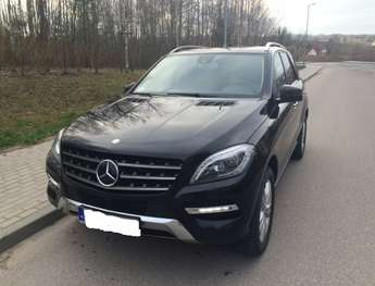 Olsztyn: MERCEDES ML 350 4MATIC BLUETEC