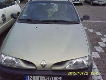 Iława (miasto): Samochód osobowy Renault  Megane  Classic
