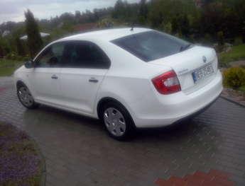 Pasłęk: Sprzedam samochód osobowy skoda RAPID TSI 1.2 105 KM