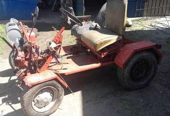Nowe Miasto Lubawskie: traktor samorobka