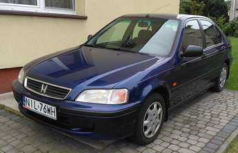 Iława (miasto): Honda Civic 2000, 1,4 benz, klima, ABS, polski salon