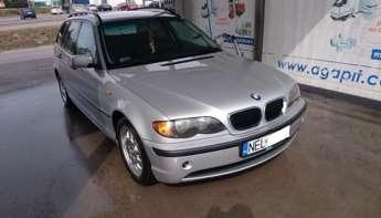 Ełk (miasto): Ekonomiczne kombi BMW e46 2.0td 6l/100km + 2 kpl alufelg!