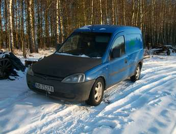 Olsztyn: Opel Combo C-Van