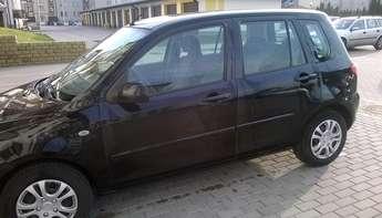Iława: Mazda2, ubezpieczona 05.17
