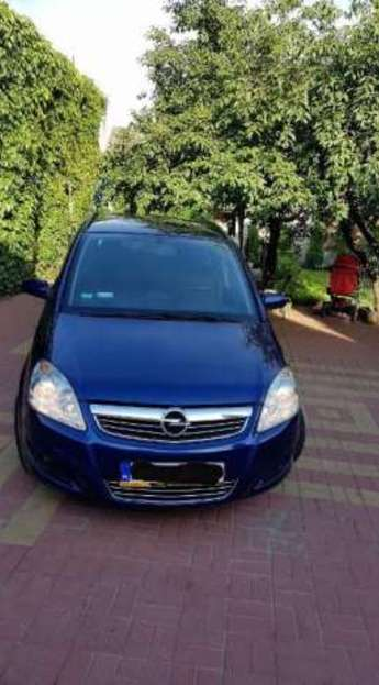 Działdowo:  Opel Zafira B lift 2008 1,7 CTDI ecoFLEX