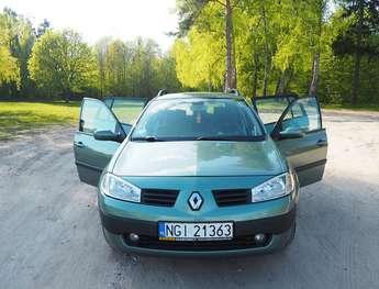 Giżycko (miasto): Renault Megane II 1,5 dCi
