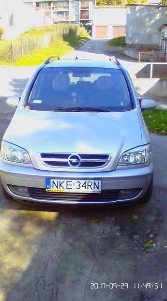 Kętrzyn (miasto): Opel Zafira 1,8 benzyna+Gaz