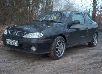 Olsztyn: Renault Megane Coupe, 2000r., 1,6 16V