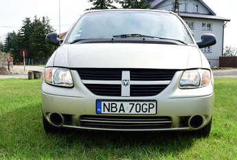 Bartoszyce: Sprzedam Dodge Caravan rocznik 2005