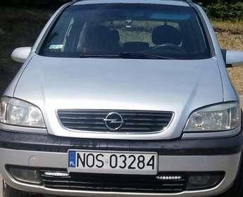 Ostróda: Opel Zafira A